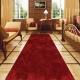 Красная ковровая дорожка с высоким ворсом Wine